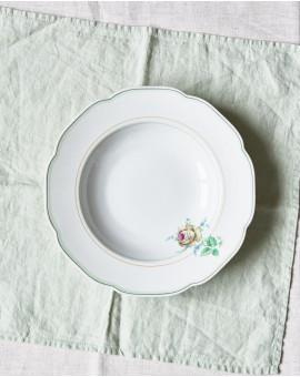 Hluboký talíř s růží / Chodov