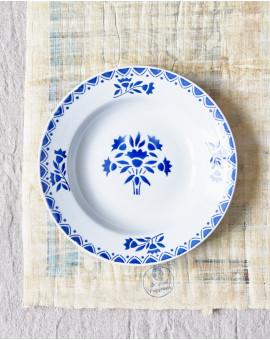 Hluboký keramický talíř s...