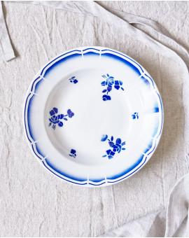 Hluboký talíř květovaný