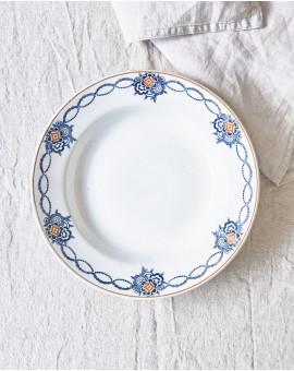 Hluboký talíř s kyticemi /...
