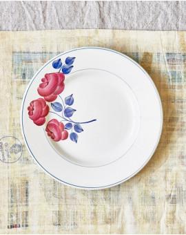 Dezertní talíř s růží