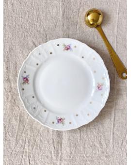 Dezertní talíř s květy a...